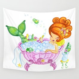 Bubblebath Wishes Wall Tapestry