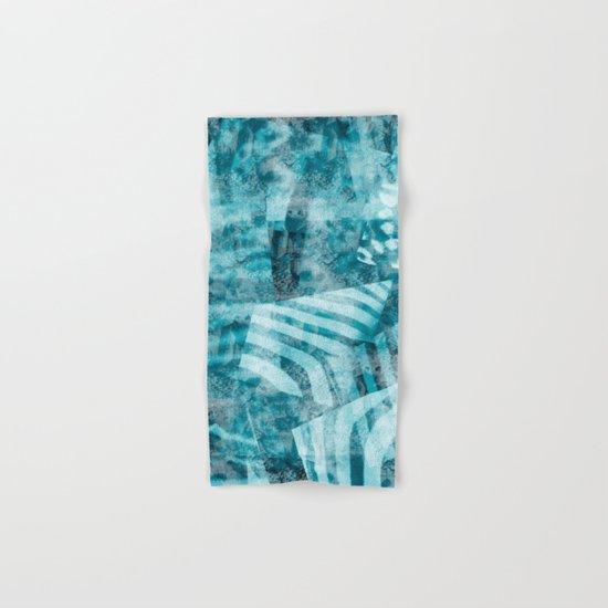 Blue safari Hand & Bath Towel