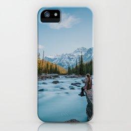 Mistaya Canyon iPhone Case