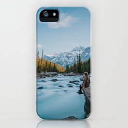 Mistaya Canyon iPhone Case