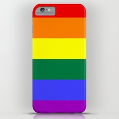 Gay Pride Flag iPhone 6 Plus Slim Case