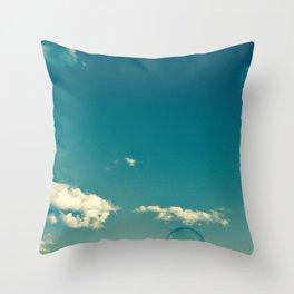 Soap Bubble Photography Throw Pillow