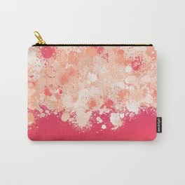 paint splatter on gradient pattern bti Carry-All Pouch