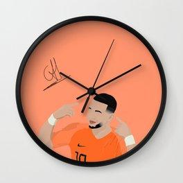 Memphis Depay - Netherlands Wall Clock