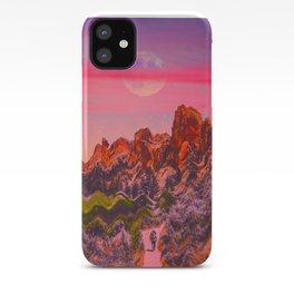 Caminhada Lunar iPhone Case