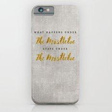 What Happens under The Mistletoe iPhone 6s Slim Case