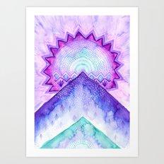 New Moon Vibes Art Print
