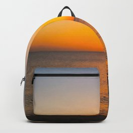 Saint Lucia Sunset on Sugar Beach Backpack
