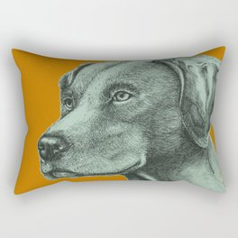 Critter Sketch Rectangular Pillow