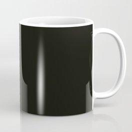 Hark, the chasing moon, above our dark winter sea Coffee Mug