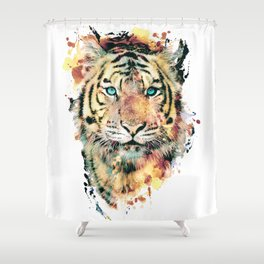 Tiger III Shower Curtain