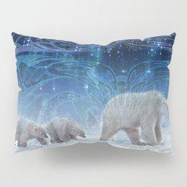 Arctic Journey of Polar Bears Pillow Sham
