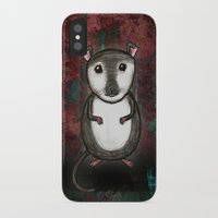 gemma iPhone & iPod Cases featuring Gemma the Gerbil by Studio 8107