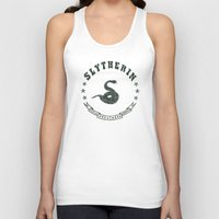 slytherin Tank Tops featuring Slytherin House by Shelby Ticsay
