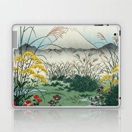 Hiroshige - 36 Views of Mount Fuji (1858) - 31: The Ōtsuki Plain in Kai Province Laptop & iPad Skin