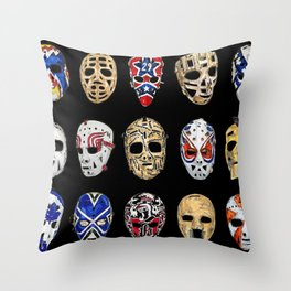 Mask Sequence Throw Pillow