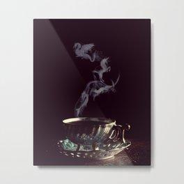 Tea and Fables Metal Print