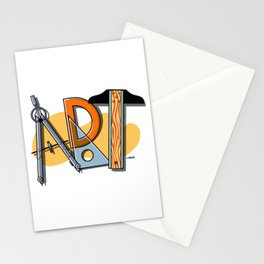 A-R-T Spells Art! Stationery Cards