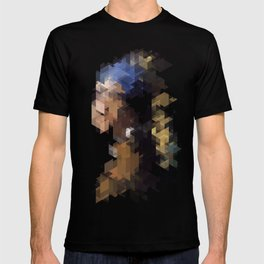 Panelscape Iconic  - Girl with a Pearl Earring T-shirt