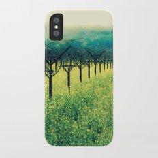Winter Vineyard I - Serenity iPhone X Slim Case