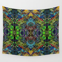 Paint Mandala 003 Wall Tapestry