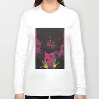 wings Long Sleeve T-shirts featuring WINGS by Galvanise The Dog