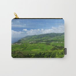 Azores islands landscape Carry-All Pouch