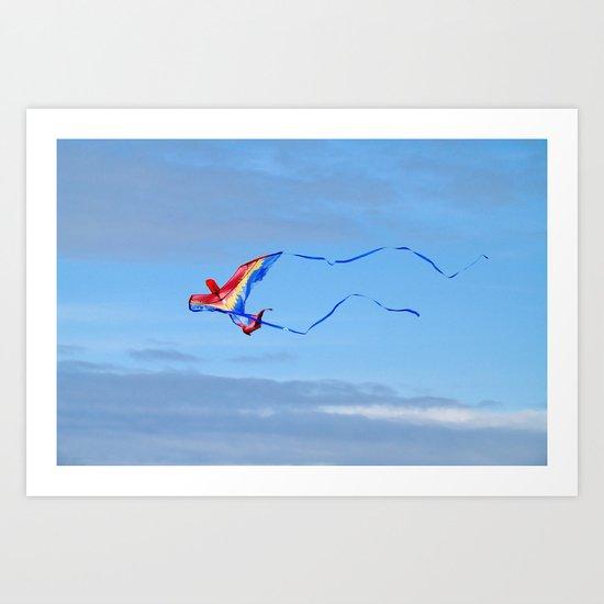 Vuela! Art Print
