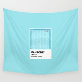 Pantone Series – Summer Swim Wall Tapestry