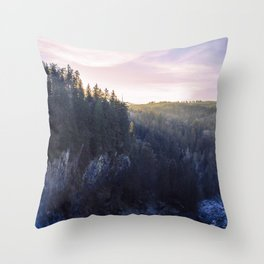 Seattle Sunsets Throw Pillow