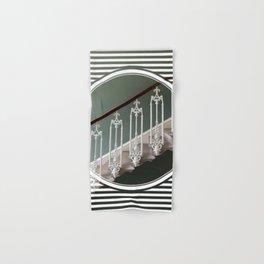 Stairway to Heaven - geometric circle Hand & Bath Towel