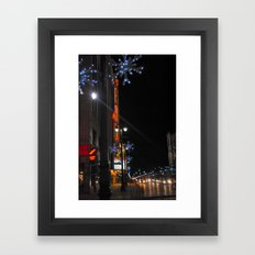 Fox Theater Framed Art Print