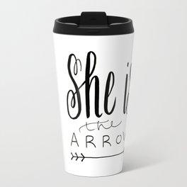 She is the Arrow Travel Mug