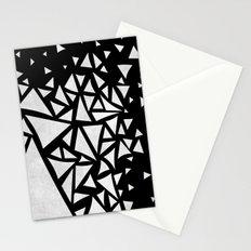 B&W geometric  pattern 02 Stationery Cards