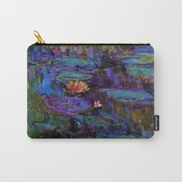 Water Lilies by Claude Monet Carry-All Pouch