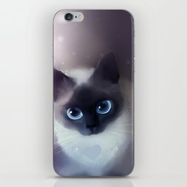 Siamese Cat iPhone Skin