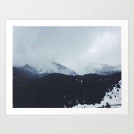 Tibble Fork Reservoir Art Print