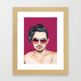 Colored Glasses - No. 24 Framed Art Print