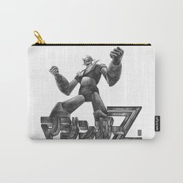 Mazinger Z  ( black & white version) Carry-All Pouch