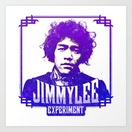Jimmy Lee - Purple Art Print