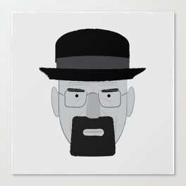 Heisenberg, he is the one who knocks. Canvas Print