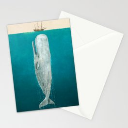 The Whale - Full Length - Option Stationery Cards