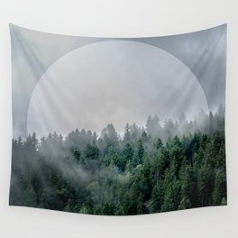 Foggy Woods 3 Wall Tapestry
