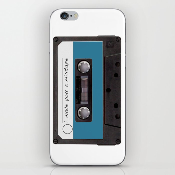 I made you a mixtape | Mix Tape Graphic Design iPhone Skin