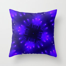 Diamond Lights Throw Pillow