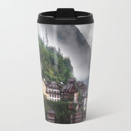 Dreamy Austrian village: Hallstatt Travel Mug