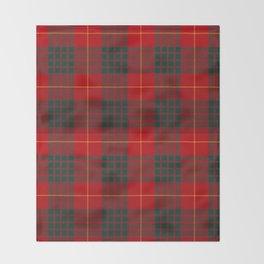 CAMERON CLAN SCOTTISH KILT TARTAN DESIGN Throw Blanket