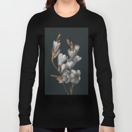 Night Flowers Long Sleeve T-shirt