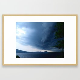 COREYS ISLAND Framed Art Print