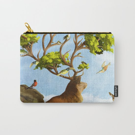 The Forest of Songs Carry-All Pouch